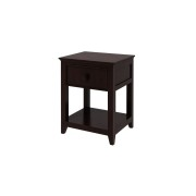 Espresso finish nightstand Craft kids furniture