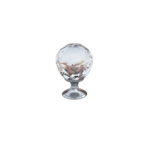 Clear Ball Crystal Knob Craft Kids Furniture Drawer Pull