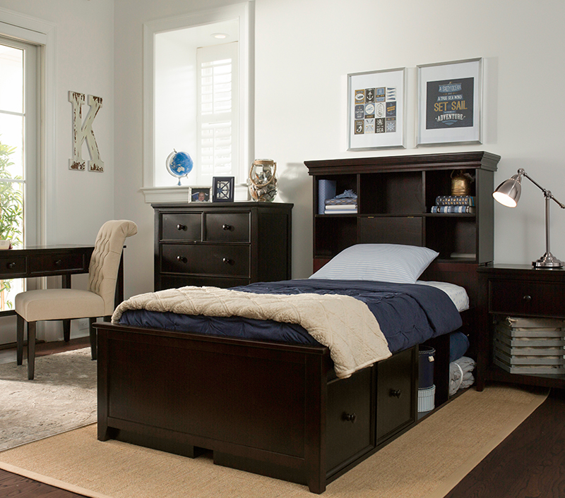 Storage Bed with underbed storage options