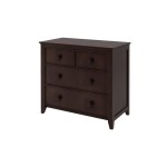 Craft Dresser Teen Youth Boys Bedroom Furniture Espresso Finish