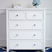 CRAFT-2OVER3-DRAWER-DRESSER-WHTIE-CLEAR-CRYSTAL-KNOBS