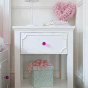 CRAFT-NIGHTSTAND-WHITE-FUCHSIA-CRYSTAL-KNOB